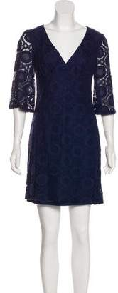 Trina Turk Lace Mini Dress