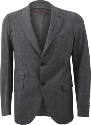 Eleventy Notch Lapel Jacket