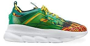 Versace Men's Chain Reaction Sneakers