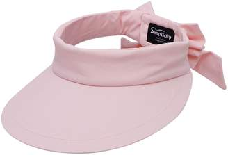 Simplicity Women's SPF 50+ UV Protection Wide Brim Beach Sun Visor Hat