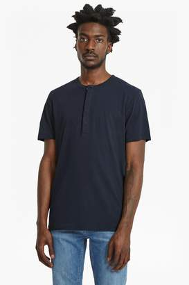 French Connection Plain Henley Short Sleeve T-Shirt