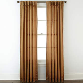 Royal Velvet Hilton Pinch-Pleat/Back-Tab Curtain Panel