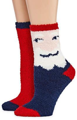 MIXIT Mixit 2 Pair Crew Socks - Womens
