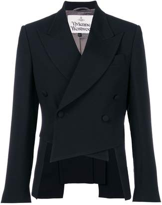 Vivienne Westwood double breasted cropped jacket