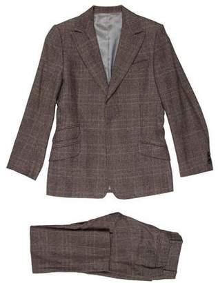 Dolce & Gabbana Plaid Two-Piece Suit