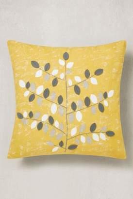 Next Graphic Leaf Cushion