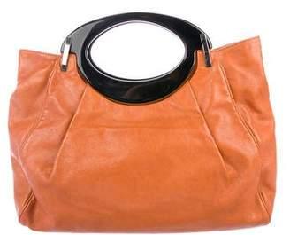 Marni Leather Top Handle Bag
