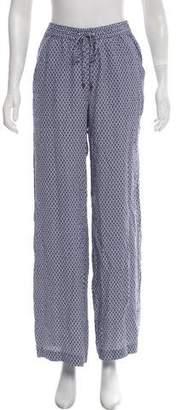 MICHAEL Michael Kors Printed Wide-Leg Pants