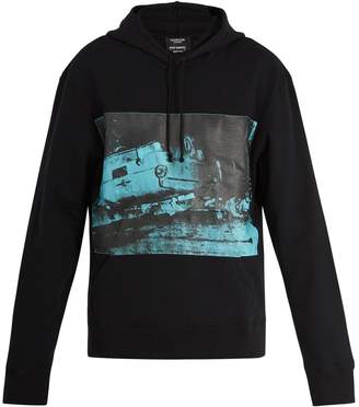 Calvin Klein Andy Warhol-print hooded cotton sweatshirt