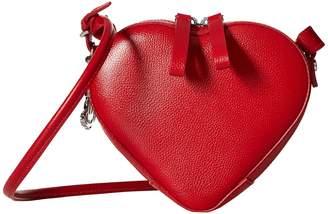 Vivienne Westwood Johanna Heart Crossbody Cross Body Handbags