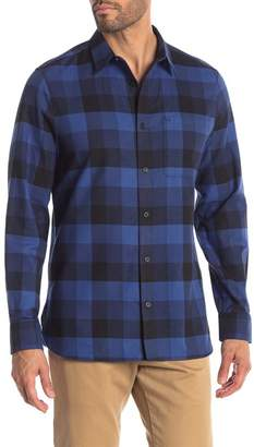Calvin Klein Modern Fit Plaid Long Sleeve Shirt
