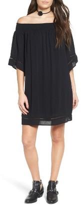 Women's Love, Fire Off The Shoulder Dress $48 thestylecure.com