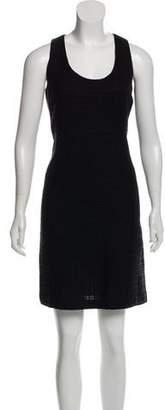 Tory Burch Textured Knit Knee-Length Dress