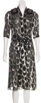 Creatures of the Wind Sheer Wrap Dress