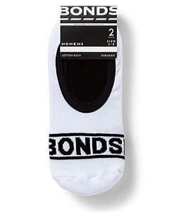 Bonds 100 Sneaker Sock Two Pack
