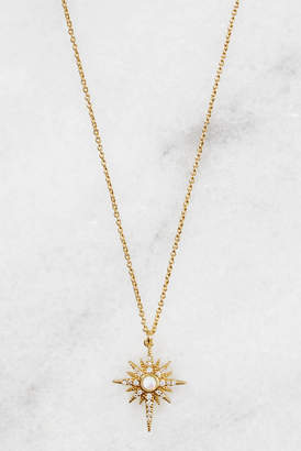 Tai Opal Gold Starburst Pendant Necklace