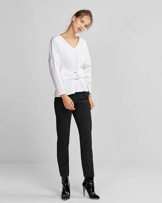 Express O-Ring Long Dolman Sleeve Tee