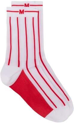 MSGM striped socks