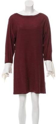 Chloé Striped Mini Dress