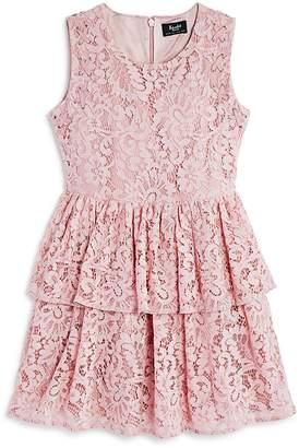 Bardot Junior Girls' Tiered Lace Dress