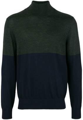 Joseph high neck Novelty knit jumper