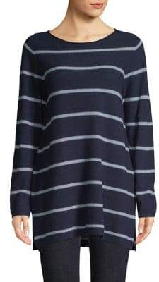 Eileen Fisher Striped Boatneck Tunic