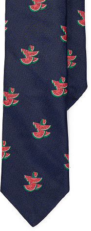 Polo Ralph Lauren Polo Ralph Lauren Watermelon Silk Narrow Tie