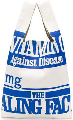 Maison Margiela Vitamin shopper bag