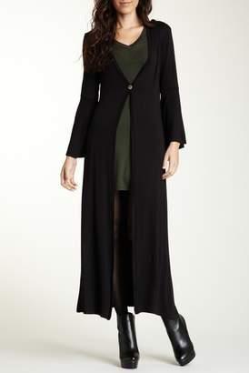 24\u002F7 Comfort Flared Sleeve Maxi Cardigan (Regular & Plus)