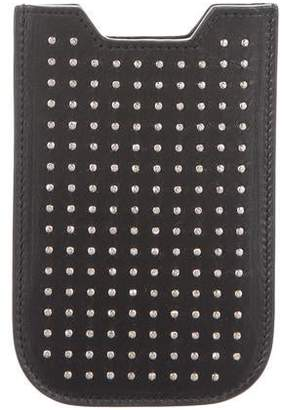 Saint Laurent Embellished Phone Case w/ Tags
