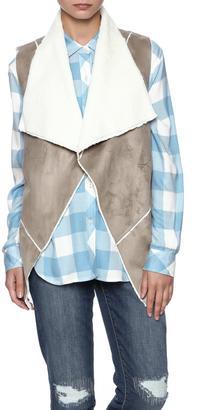 Ellison Faux Fur Vest $35.99 thestylecure.com