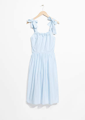And other stories Tie Strap Dress
