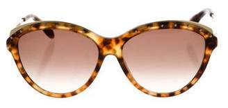 Alexander McQueen Embellished Cat-Eye Sunglasses