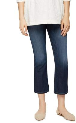 Joe's Jeans Pea Collection Secret Fit Belly Olivia Cropped Flare Maternity Jean