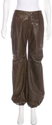 LGB Mid-Rise Leather Pants