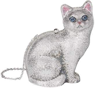 Judith Leiber Cat Minaudiere Clutch
