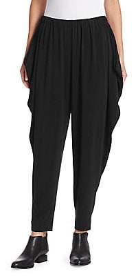 Issey Miyake Women's Draped Jersey Pants