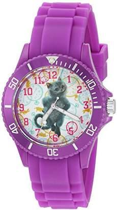 Disney Women's 'The Cheshire Cat' Quartz Plastic Watch