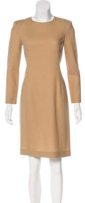 The Row Wool Knee-Length Dress