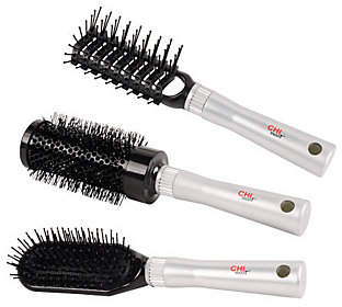 CHI Smart Hair Brushes - Set of 3 $35 thestylecure.com