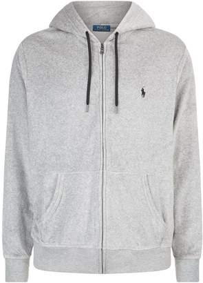 Polo Ralph Lauren Velour Zipped Hoodie