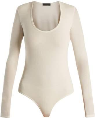 ATM Round-neck ribbed-jersey bodysuit