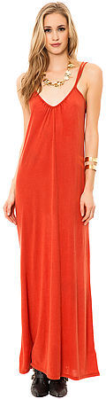 RVCA The Bolan Maxi Dress in Bossa Nova