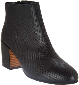 Kenneth Cole Gentle Souls By Gentle Souls Leather Block Heel Ankle Boots - Blaise 2