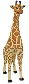 Melissa & Doug 4ft-Tall Giraffe Plush