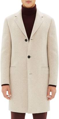 Theory Steinway Regular Fit Felted Wool & Cashmere Coat