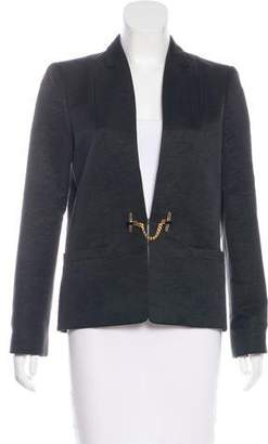 Gucci Notch-Lapel Textured Blazer