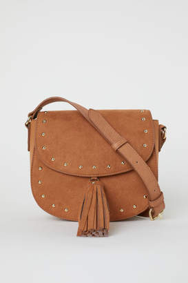 H&M Small Shoulder Bag with Tassel - Beige