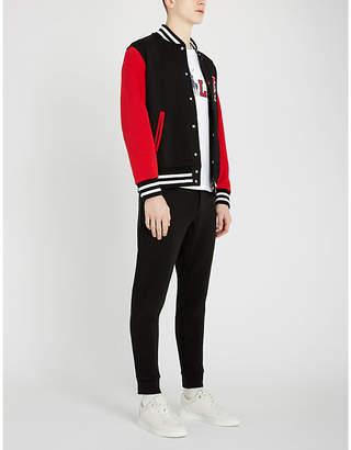 Polo Ralph Lauren Stretch-jersey varsity jacket