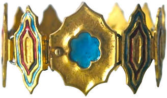 One Kings Lane Vintage Signed Line Vautrin French Bracelet